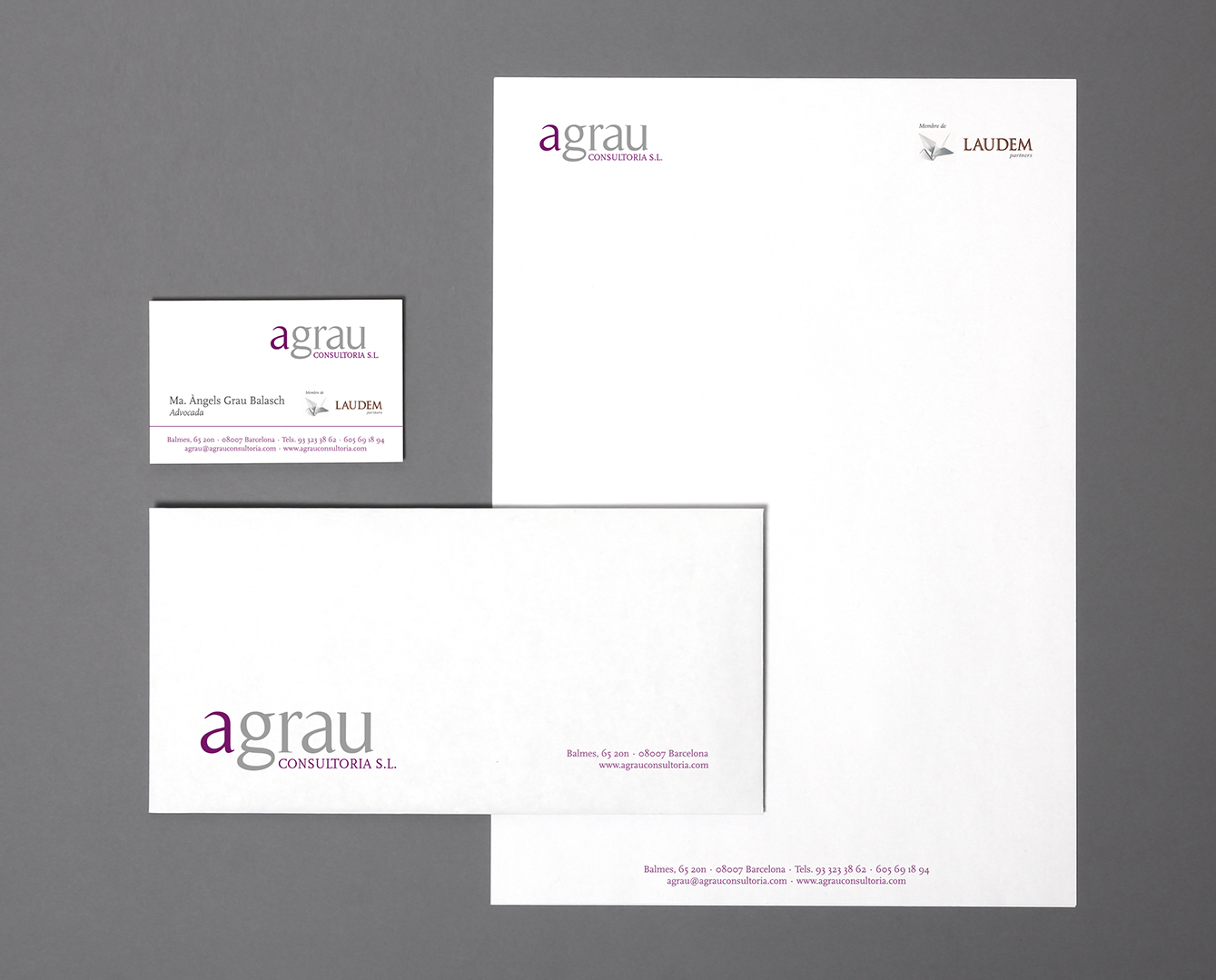 Blank stationery still life with business cards, paper, envelope. Template for branding identity. For graphic designers presentations and portfolios.