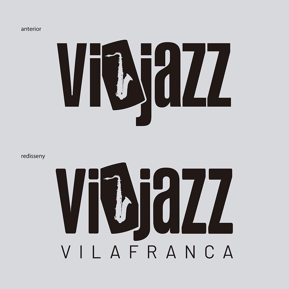 redisseny del logo vijazz